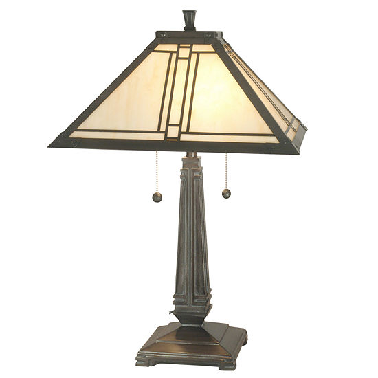 Dale Tiffany™ Lined Mission Table Lamp