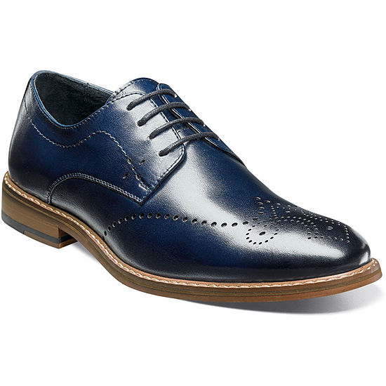 Stacy Adams Mens Alaire Oxford Shoes Wing Tip