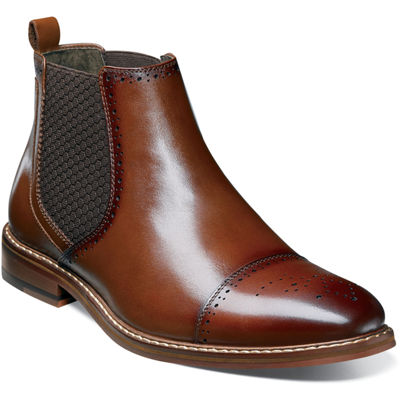 Stacy Adams Mens Alomar Chelsea Boots Pull-on