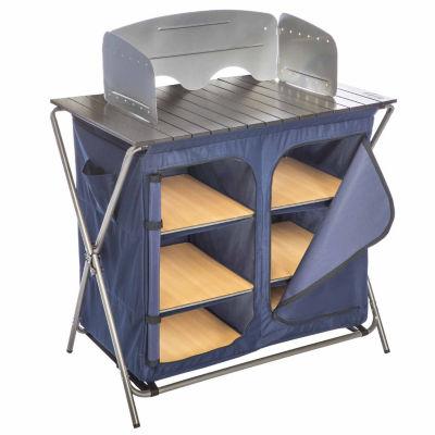 Kamp-Rite Kwik Pantry with Cook Table