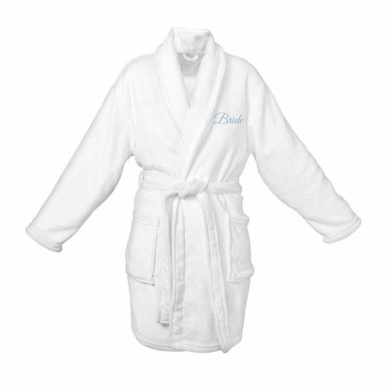 Cathy's Concepts Bride Plush Womens Fleece Robe