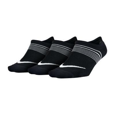 Nike 3 Pack Lightweight Footie Socks- Womens