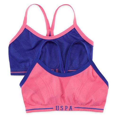 Us Polo Assn. Sports Bra Girls