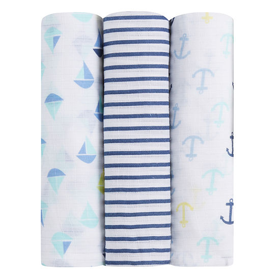 Ideal Baby 3-pc. Swaddle Blanket