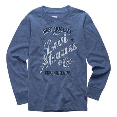 Levi's Graphic Long Sleeve T-Shirt-Preschool Boys