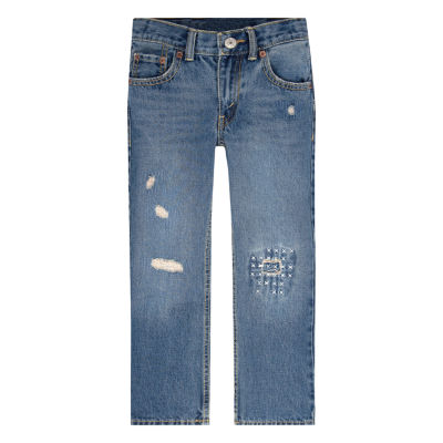 Levi's 505 Distressed Jeans- Preschool Boys