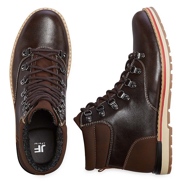 JF J.Ferrar Dawson Mens Lace Up Boots
