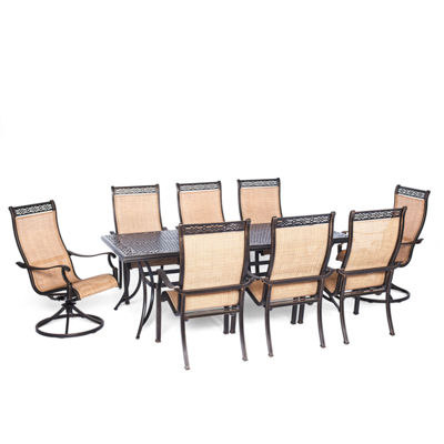 Hanover Manor 9-pc. Patio Dining Set