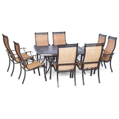 Hanover Manor 9-pc. Patio Dining Set