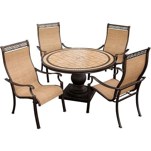 Hanover Monaco 5-pc. Patio Dining Set