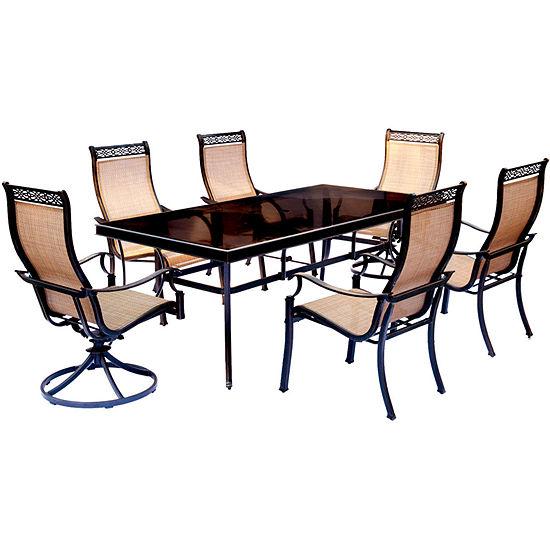Hanover Monaco 7-pc. Patio Dining Set