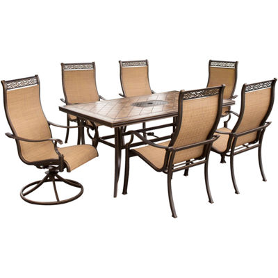 Hanover Monaco 7-pc. Patio Dining Set