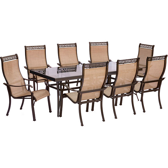 Hanover Monaco 9-pc. Patio Dining Set