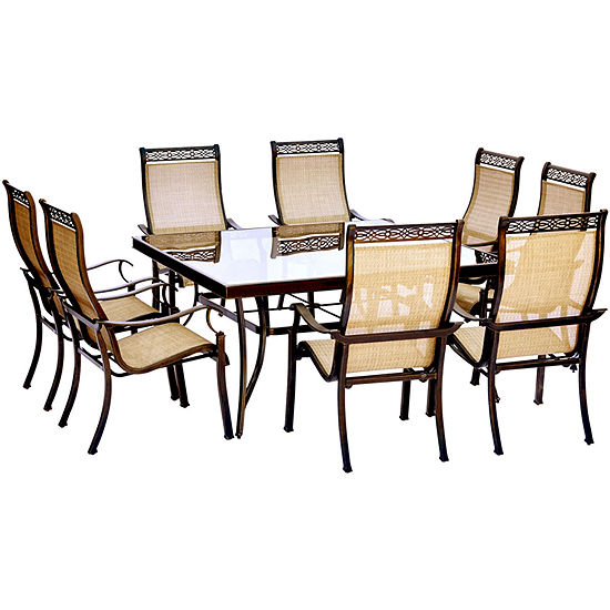 Jcpenney Dining Sets: Hanover Monaco 9-pc. Patio Dining Set, Color: Tan Bronze