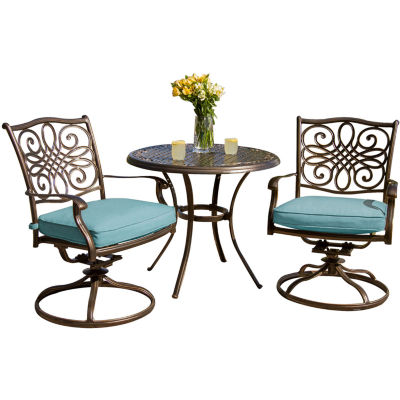 Hanover Traditions 3-pc. Patio Dining Set