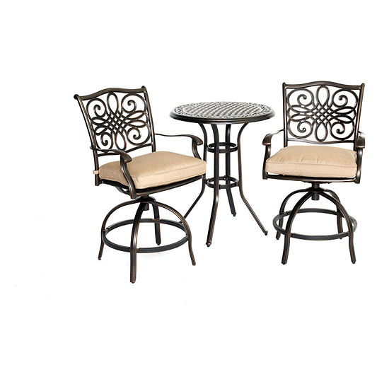 Hanover Traditions 3-pc. Bistro Set