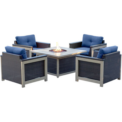 Hanover Deep Seating 5-pc. Conversation Set