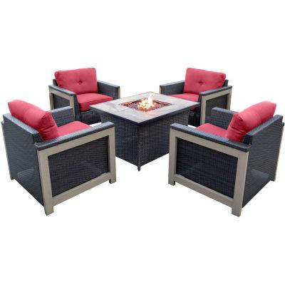 Hanover Deep Seating 5-pc. Conversation Set