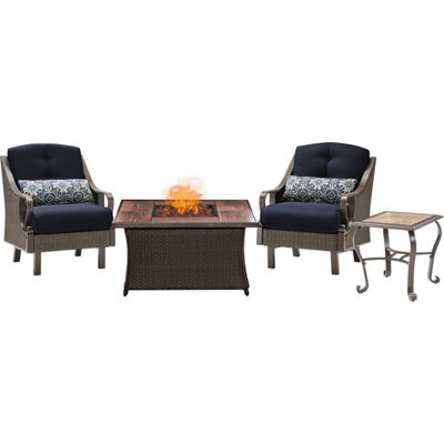 Hanover Ventura 3-pc. Conversation Set