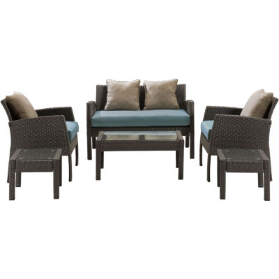 Hanover Chelsea 6-pc. Conversation Set