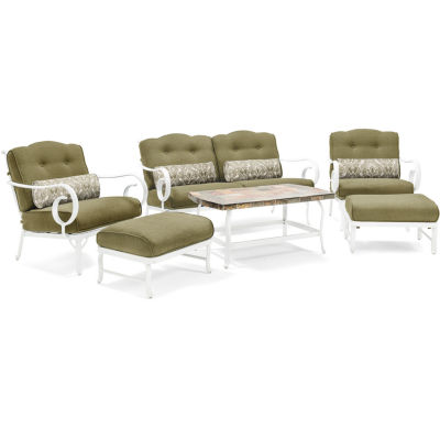Hanover Aluminum Frame 6-pc. Conversation Set
