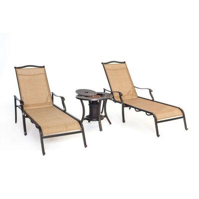 Hanover Monaco 3-pc. Patio Lounge Set