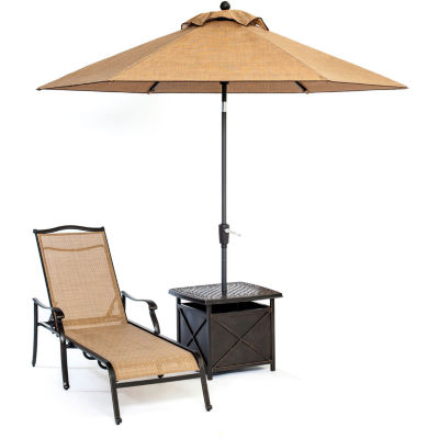 Hanover Monaco 3-pc. Patio Lounge Set