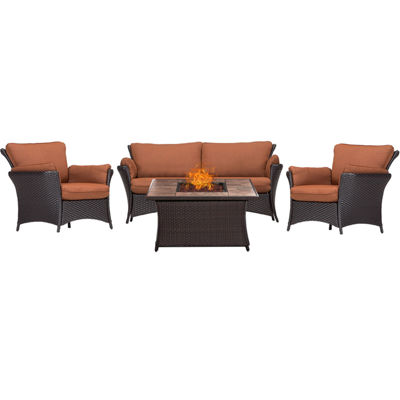 Hanover Strathmere 4-pc. Conversation Set