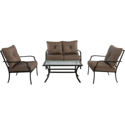 Hanover Palm Bay 4-pc. Conversation Set