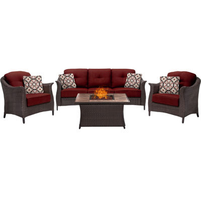 Hanover Gramercy 4-pc. Conversation Set