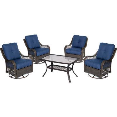 Hanover Orleans 5-pc. Conversation Set
