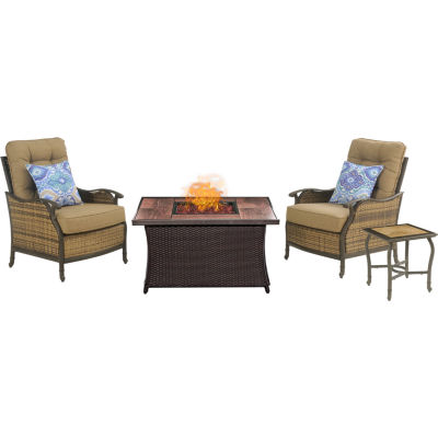 Hanover Hudson 3-pc. Conversation Set