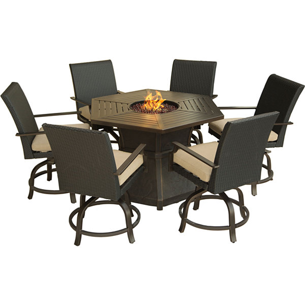 Hanover Aspen Creek 7-pc. Patio Dining Set