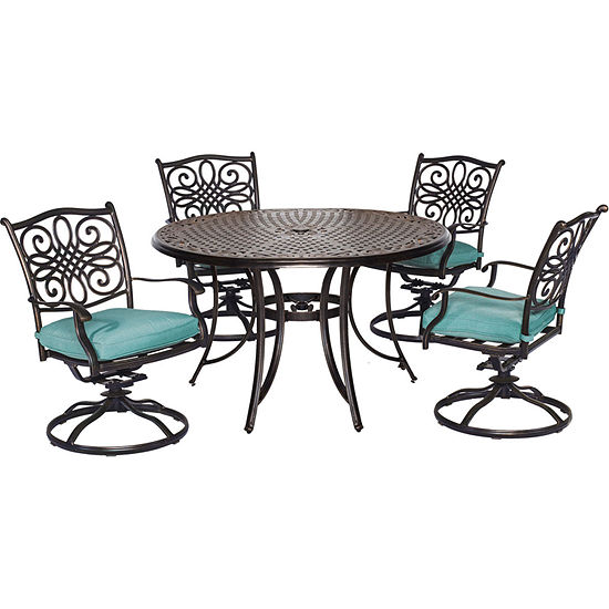 Hanover Traditions 5-pc. Patio Dining Set