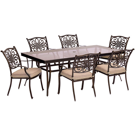 Hanover Traditions 7-pc. Patio Dining Set