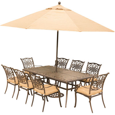 Hanover Traditions 9-pc. Patio Dining Set