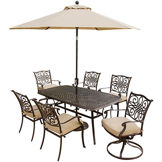 Hanover Traditions 7 Pc Patio Dining Set