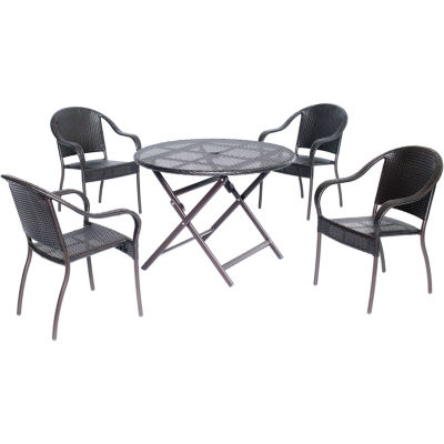 Hanover Orleans 5-pc. Patio Dining Set