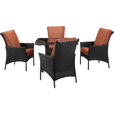 Hanover Strath Allure 5-pc. Patio Dining Set