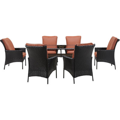 Hanover Strath Allure 7-pc. Patio Dining Set