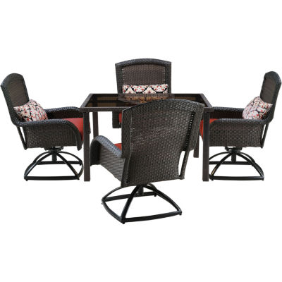 Hanover Strathmere 5-pc. Patio Dining Set