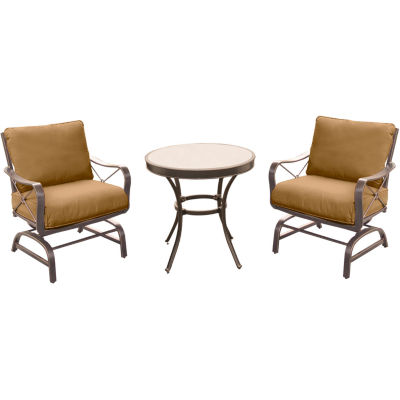 Hanover Summer Nights 3-pc. Patio Dining Set