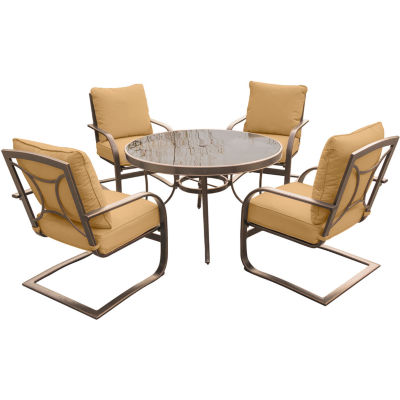Hanover Summer Nights 5-pc. Patio Dining Set