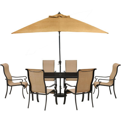 Hanover Brigantine 7-pc. Patio Dining Set