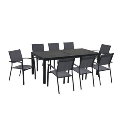 Hanover Naples 9-pc. Patio Dining Set