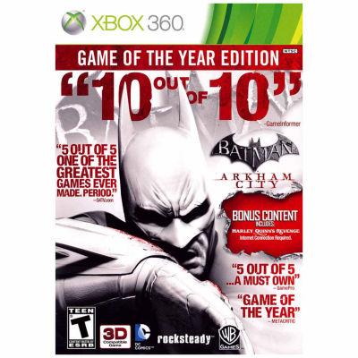 Batman Arkham City Goty Ninjago Video Game-XBox 360