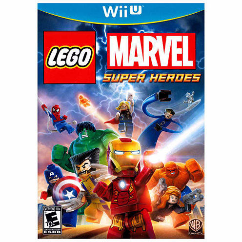 Lego Marvel Super Heroes Ninjago Video Game-Wii U