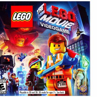 Lego Movie Videogame Ninjago Video Game-Nintendo 3DS
