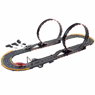 Parallel Looping Electric Power Road Racing Set