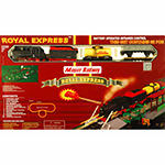G.B. Pacific Royal Express Wireless Train Set